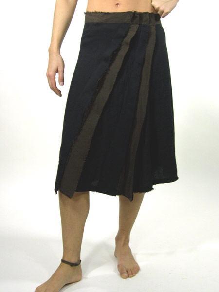 d29c1b8e4ff5c0 OUTLET -Isabel de Pedro - Leinenrock schwarz/braun